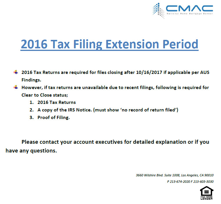 2016 tax return 101617